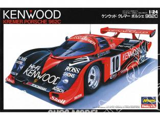 Hasegawa maquette voiture 20287 Kenwood Kremer Porsche 962C 1/24