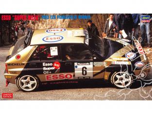 Hasegawa maquette voiture 20402 Esso «Super Delta» Gagnant de l'ECR Piancaballo de 1993 1/24