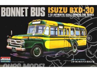 Arii maquette camion 41036 Isuzu Bonnet bus BXD30 1/32