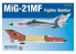 EDUARD maquette avion 7451 MiG-21MF Chasseur Bombardier WeekEnd Edition 1/72