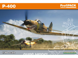 EDUARD maquette avion 8092 Bell P-400 ProfiPack Edition 1/48