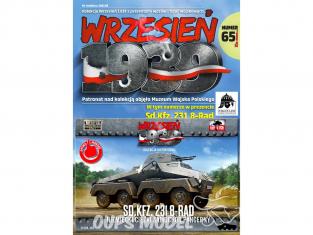 First to Fight maquette militaire pl065 SdKFZ. 231 8 Rad ARMÉE ALLEMANDE Campagne de Pologne 1939 1/72