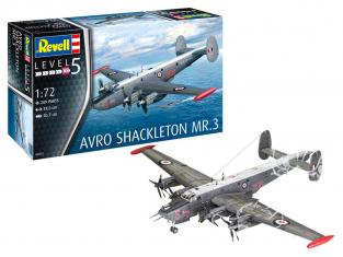 Revell maquette avion 03873 Avro Shackleton MR.3 1/72