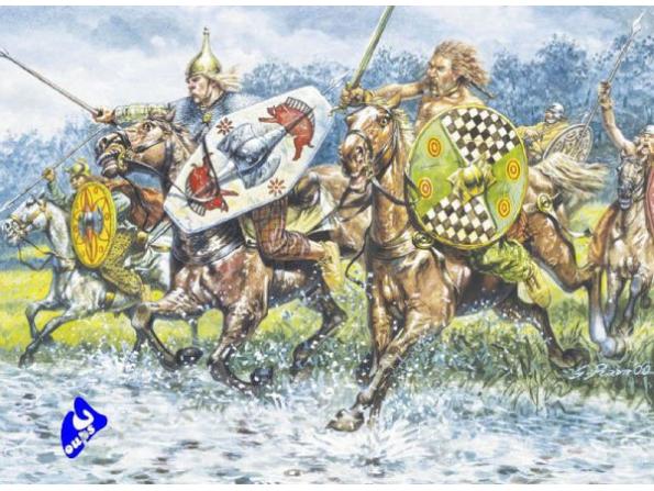 Italeri maquette historique 6029 cavalerie Celte 1/72