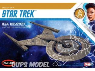 Polar Lights maquette 961 Star Trek U.S.S Discovery NCC-1031 1/2500