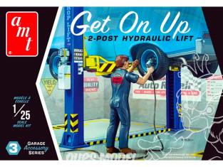 AMT maquette voiture PP017 Get On Up Garage Set d'accessoires set 3 1/25