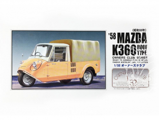 Arii maquette voiture 21065 Mazda K360 Baché 1958 1/32