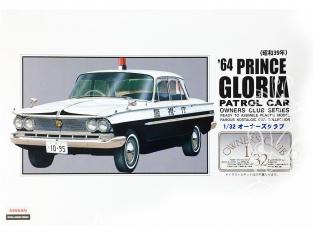 Arii maquette voiture 31068 Prince Gloria Patrol Car 1964 1/32