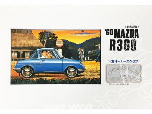 Arii maquette voiture 41015 Mazda R360 1960 1/32