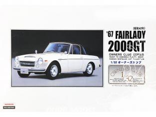 Arii maquette voiture 41009 Datsun Fairlady 2000GT 1967 1/32
