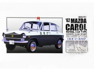 Arii maquette voiture 47069 Mazda Carol Patrol car 1962 1/32