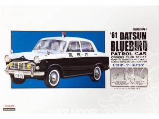 Arii maquette voiture 31067 Datsun Bluebird Patrol car 1961 1/32