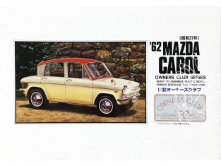 Arii maquette voiture 41008 Mazda Carol 1962 1/32