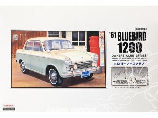 Arii maquette voiture 51007 Datsun Bluebird 1200 1961 1/32