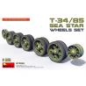 Mini Art maquette accessoires militaire 37033 JEU DE ROUES T-34/85 SEA STAR 1/35