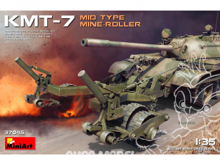 Mini Art maquette militaire 37045 MINE-ROLLER KMT-7 MID TYPE 1/35