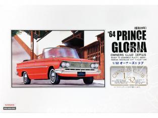 Arii maquette voiture 51008 Prince Gloria 1964 1/32