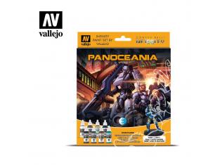 Vallejo Set Infinity 70231 Panoceania 8 pots de peintures 17ml
