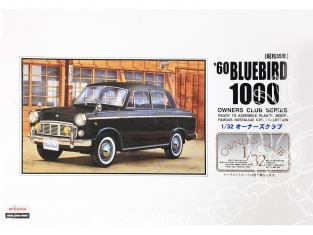 Arii maquette voiture 51003 Datsun Bluebird 1000 1960 1/32