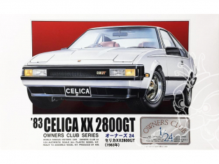 Arii maquette voiture 31162 Toyota Celica XX 2800GT 1983 1/24