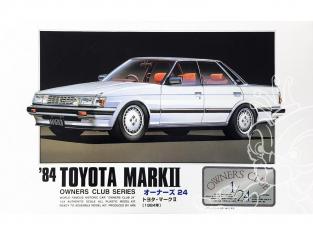 Arii maquette voiture 11152 Toyota Mark-II 1984 1/24