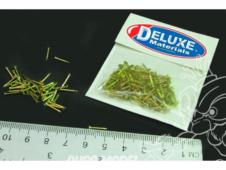 """DELUXE MATERIALS AC5 clous en laiton 3/8 """""""