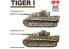 Rye Field Model maquette militaire 5025 Tigre I Début de production intérieur complet - parties transparentes 1/35