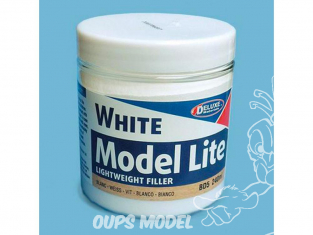 DELUXE MATERIALS BD5 Model Lite White mastic leger bouche pore 240ml