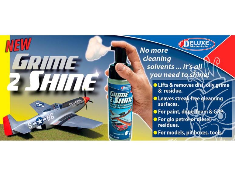 DELUXE MATERIALS AC27 Grime 2 Shine 225ml netoyant