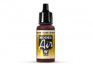 Vallejo Peinture Acrylique Model Air 71402 UK BSC 49 marron violet clair 17ml