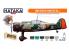 Hataka Hobby peinture laque Orange Line CS107 Set WW2 Dutch AF paint set vol. 1 6 x 17ml