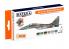 Hataka Hobby peinture laque Orange Line CS105 Set MiG-29A/UB 4-colour scheme paint 6 x 17ml