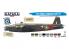 Hataka Hobby peinture acrylique Blue Line BS102 Set de peinture RAF Bomber Command 8 x 17ml