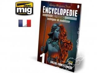 MIG magazine 6241 Encyclopedie des Figurines - Vol.1 Couleur, forme et lumière en Français