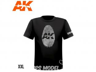 Ak Interactive T-Shirt AK923 T-Shirt Ak Interactive DNA Homme taille XXL