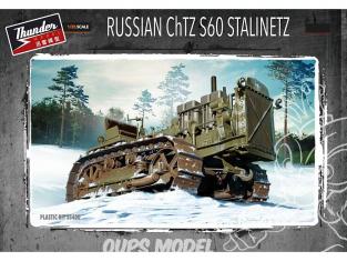 Thunder Model maquette militaire 35400 Tracteur a chenille Russe ChTZ S60 Stalinetz  1/35