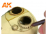 Ak interactive AK4186 Crayon de détail Sepia Dur - Hard
