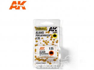 AK interactive Feuilles ak8114 Feuilles de peuplier Hiver 1/35