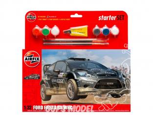Airfix maquette voiture 55302 Ford Fiesta WRC Starter Set 1/32