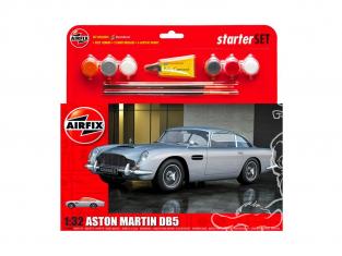 Airfix maquette voiture 050089 Aston Martin DB5 Starter Set 1/32