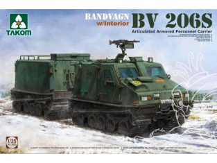 Takom maquette militaire 2083 BANDVAGN BV 206 S 1/35