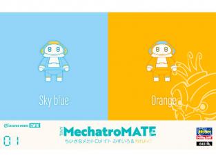 "HASEGAWA maquette 64516 Petit Mechatro mate No.01 ""Sky Blue & Orange"" 1/35"