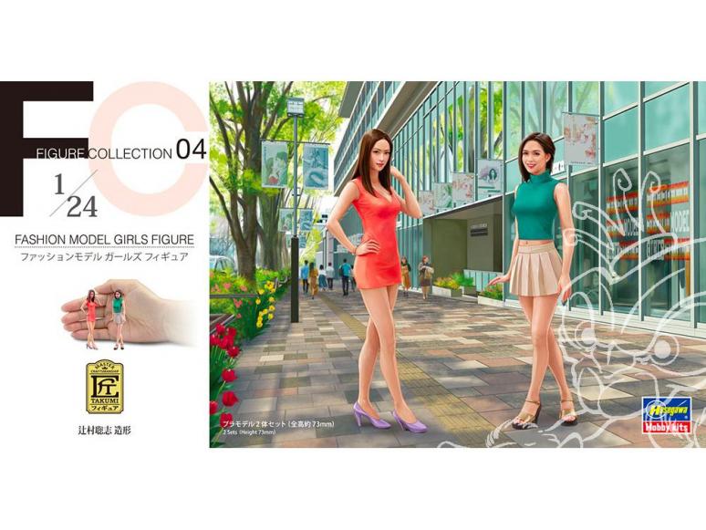 Hasegawa maquette voiture 29104 Girls Figurine modèle filles de mode 1/24