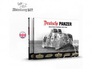 ABTEILUNG502 livre 720 Deutshe Panzer en Anglais par Carlos Diego Vaquerizo & Ricardo Recio Cardona