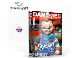 ABTEILUNG502 magazine 726 Damaged Numéro 7 Chucky En Anglais