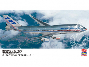 Hasegawa maquette avion 10832 Boeing 747-400 «démonstrateurs» 1/200
