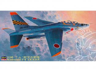 "Hasegawa maquette avion 07217 Kawasaki T-4 ""Force d'autodéfense aérienne"" 1/48"