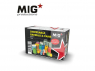 MIG Productions by AK MP35-411 Bidons et barils 1/35