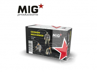 MIG Productions by AK MP72-092 Mécaniciens Allemands 1/72