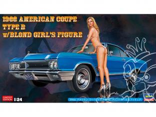 Hasegawa maquette voiture 52213 Buick Wildcat 1966 avec figurine 1/24